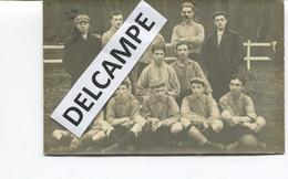 CARTE PHOTO - MEDOC - EQUIPE D'ASSOCIATION DE FOOTBALL EN 1908 - Famille LATASTE - Otros Municipios