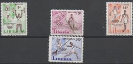 Jeux Olympiques De Rome - Olympic Games  1960 XXX - Liberia