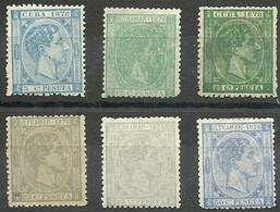 ESPAÑA COLONIAS CUBA REINADO ALFONSO XII 1876/79 (0) - Cuba (1874-1898)
