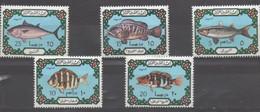 Poissons -Vissen- Fishes  XXX 1973 - Libya