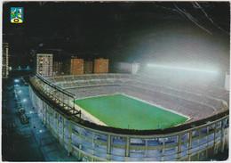 MADRID FOOTBALL Stadium Stade Estadio Santiago Bernabeu Vista Nocturna - Calcio