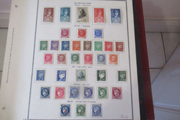 France Lot  1940 - 42 - Verzamelingen (zonder Album)