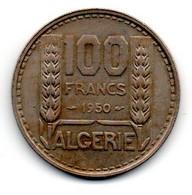 Algérie -  100 Francs 1950 - SUP - Algeria