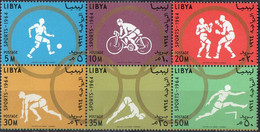Jeux Olympiques De Tokyo  1964 XXX - Libya