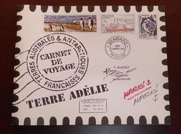 TAAF - 2001 - N°Yv. C308 - Carnet De Voyage - Terre Adélie - Neuf Luxe ** / MNH / Postfrisch - Boekjes