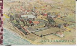 CAUGHNAWAGA, P.Q. La Mission St-François-Xavier : Carnet 7 Cartes Postales (cf 11 Scans) - Non Classificati