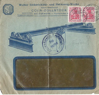 Duitsland Censuurbrief Met Michelno. 86 Merfachfrankatur Cöln 3-4-16 (269) - Non Classificati