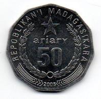 Madagascar - 50 Ariary 2005 - SUP - Madagascar