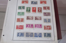 France Lot   1936 1940 Chomeurs Intellectuels - Verzamelingen (zonder Album)