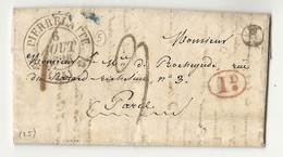 Drome - Pierrelatte Pour Le Marquis De ROCHEGUDE. LAC De 1836 - 1801-1848: Precursors XIX