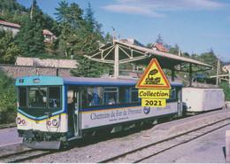 Autorail X304 Des Chemins De Fer De Provence, En Gare De Digne (04) - - Digne