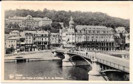 Cpa Dinant / Hôtel Des Postes Et Collège N.D. De Bellevue . - Dinant