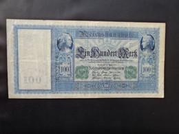 ALLEMAGNE * : 100 MARK   21.4.1910    C.A.44b, ** / P 43   Wunderbar TTB - 100 Mark