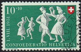 Schweiz 1951, MiNr 556, Gestempelt - Used Stamps
