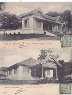 932/ 2 Kaarten Groet Uit Soekaboemi, Instituut Soekaboemi, Jongens En Meisjes Internaat 1906 - Indonesia