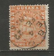 GUAYANA BRITANICA YVERT NUM. 23a B USADO - British Guiana (...-1966)