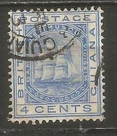 GUAYANA BRITANICA YVERT NUM. 67 USADO - British Guiana (...-1966)