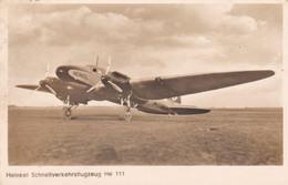 Heinkel He 111 - 1919-1938: Entre Guerras