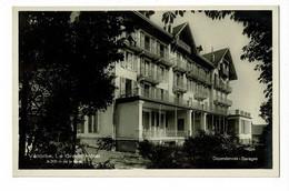 Vallorbe - Le Grand Hôtel à 200 M De La Gare - Dépendances, Garages - Pas Circulé - VD Vaud