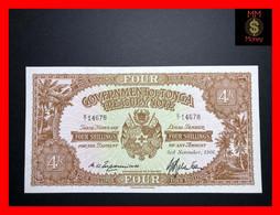 TONGA 4 Shillings  3.11.1966   P. 9   UNC - Tonga
