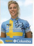 EMILIA FAHLIN    COLUMBIA  2008 - Cycling