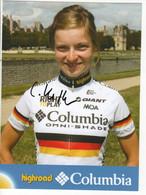 LUISE KELLER    COLUMBIA  2008 - Cycling
