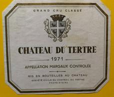 17897 -  Château Du Tertre 1971 Margaux - Bordeaux