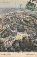 21-1340 : LE TOUQUET. PARIS-PLAGE.  VUE DE L'ATLANTIC-HOTEL - Le Touquet