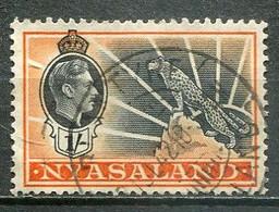 Nyasaland Mi# 64 Gestempelt/used - KGVI Coronation - Leopard - Nyasaland (1907-1953)