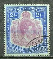 Nyasaland Mi# 65 Gestempelt/used - KGVI Coronation - Nyasaland (1907-1953)
