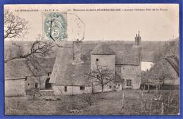 RARE CPA 50 Environs De SAINTE MERE EGLISE - Ancien Château Fort De La Fierre - Sainte Mère Eglise