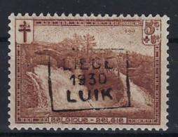 Nr. 293 Voorafgestempeld Nr. 5929  C  LIEGE  1930  LUIK  ; Staat Zie Scan ! - Roller Precancels 1930-..