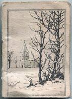 Agenda De 1933 ''Salangros Sr - Soieries-Velours-Lainages - Lyon'' (Recto Et Scan De Deux Pages Intérieures) - Klein Formaat: 1921-40