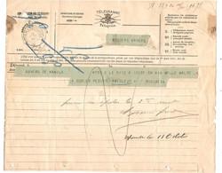 REF2991/ Télégramme-Telegram Déposé Anvers De Manila > Myssens Anvers C.Télegraphe Anvers (Bourse) 10/10/93 Arrivée - Telegrafo