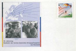 619  Prisonniers De Guerre En La Union Sovietique: PAP D'Allemagne - WW2 Prisoners Of War In The Soviet Union. Adenauer - WW2 (II Guerra Mundial)
