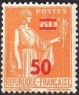 FRANCE 1941 Neuf**, Type Paix 50c Sur 80c YT 481 - Ungebraucht
