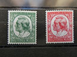 ALLEMAGNE N° 522 Et 523  Neufs Sans Charnière Cote 110€ - Unused Stamps