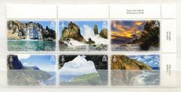 "Pitcairn - Mi.Nr. 957 / 962 - ""Landschaften"" ** / MNH (aus Dem Jahr 2016) - Pitcairninsel"