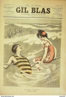 GIL BLAS-1901/31-O'KUN-VICTOR SAINBAULT-P De LAGUILLOUE-F.FRONT - Le Petit Journal
