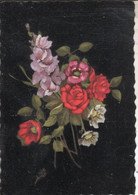 FLEUR025 CPSMGF - CARTE  VELOURS  VSE - Flores