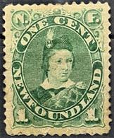 NEWFOUNDLAND 1897 - Canceled - Sc# 45a - 1c - 1865-1902