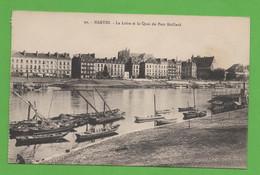 44 - Nantes - La Loire Et Le Quai Du Port Maillard - Nantes