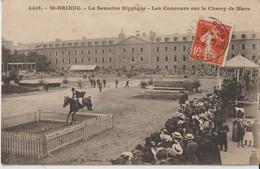 Saint Brieuc - La Semaine Hippique - Les Concours  Sur Le Champ De Mars. Collection E. Hamonic. - Saint-Brieuc