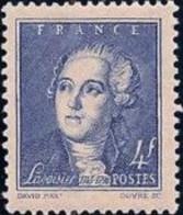 FRANCE 1943 Neuf**, Lavoisier (1743-1794) Chimiste Philosophe Et économiste YT 581 - Ungebraucht