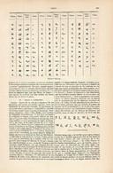 LAMINA ESPASA 8394: Alfabeto Del Tibet - Unclassified