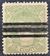 SPAIN 1870 - Bar Canceled - Sc# 173 - 19c - Gebraucht