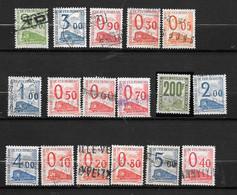 Série Complète N°31/47 Oblitérée De 1960 Manque Le 10f Jaune - Usados