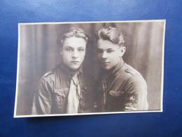Gay Interest  Photo  -  Young Man Friend Studio Photo  1930s - Altri