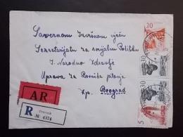 2178 - TRAVNIK - Covers & Documents