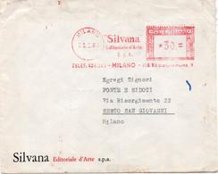 SILVANA EDITORIALE D'ARTE - MILANO 1964 - Timbro Meccanico Rosso - Poststempel - Freistempel